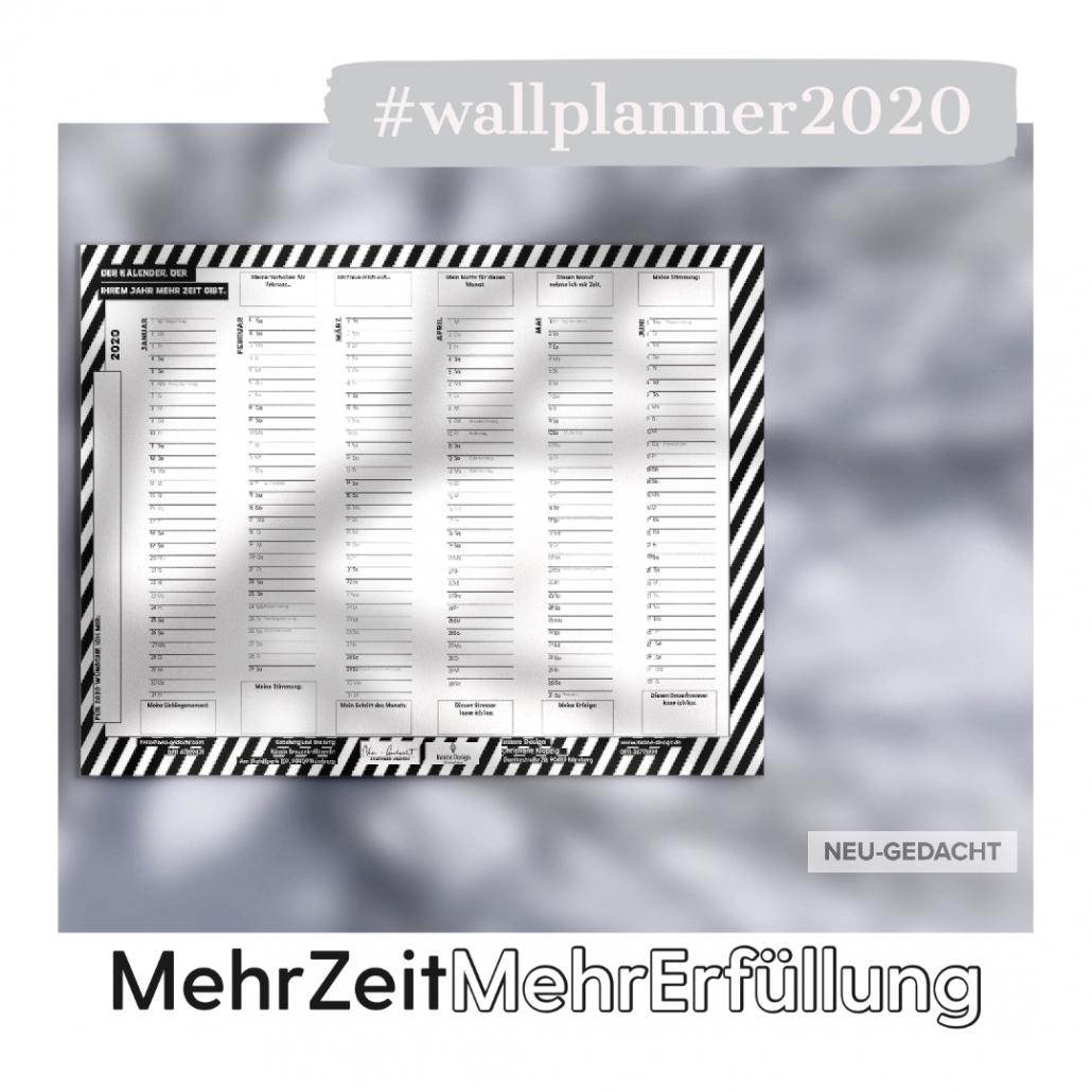 Kalender 2020 – für mehr Zeit